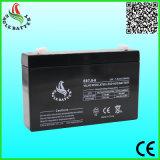 bateria acidificada ao chumbo selada recarregável do AGM de 6V 7.0ah