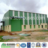 Edifício pré-fabricado de aço para o escritório do armazém da oficina