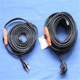 Produção animal 220V para o cabo de aquecimento europeu da tubulação de água do mercado