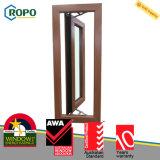 Finestra di plastica della stoffa per tendine di UPVC/PVC, finestra del PVC e disegno del portello