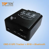 O perseguidor de Bluetooth Canbus GPS OBD, deteta o consumo de combustível, Anti-Altera Tk228-Ez alerta