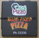 Caja de pizza con cajas de madera bloqueando la dureza (CCB112)