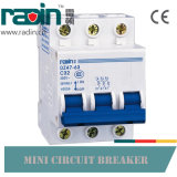Disjoncteur miniature de rupture élevé MCB 1p 2p 3p 4p