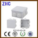 Распределительная коробка кабельного соединения водоустойчивого электрического ABS приложения 50*50 пластичная