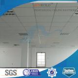 Junta de absorción 595 * 595 de fibra mineral de sonido