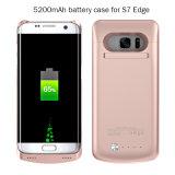 Caso de reserva externo de la carga de batería para el borde de Samsung S7 (HB-154)