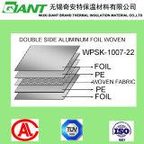 Tela tejida el PE revestido lateral doble del papel de aluminio