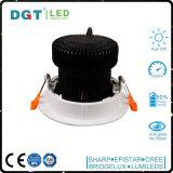 Heller justierbarer Punkt Downlight des Großhandelspreis-LED des Kardanring-25W des Kopf-LED