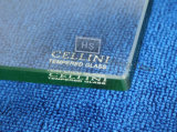 12mm Clear Square Toughened Glass comme Dining Table Top