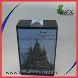 Горячая продавая прикрепленная на петлях коробка олова пакета сигареты металла