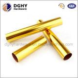 Haut acier inoxydable tourné par commande numérique par ordinateur personnalisé par qualité de précision/tube en laiton/en aluminium