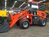 60kw carregador pesado da roda da pá do equipamento da construção de 2 toneladas