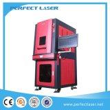 20W 30W Laser-Gravierfräsmaschine für Metall mit Vollem-Colsed Schrank