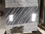 旧式な木製の木の黒の大理石のタイル(ケニヤの黒い大理石)
