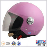 Шлем мотоцикла/мотовелосипеда/самоката стороны ECE открытый с холодным Tattoo (OP228)