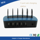 Станция 2015 заряжателя USB заряжателя 5 USB нового продукта Multi Port