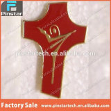 Fabriek Wholesales Gouden DwarsJesus Custom Pin Badge
