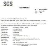 Scharnierende Manhole Cover met SGS Certificate