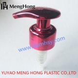 Pompe de droite à gauche de lotion de pompe de blocage pour la bouteille en plastique
