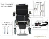 E 왕위! 새로운 혁신적인 디자인 폴딩/Foldable 무브러시 전자 휠체어 Ce/FDA는 세계에서, 잘 승인했다