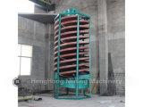 Rampa espiral 1200 da fibra de vidro para a areia mineral, ferro, Zircon, processamento de minério do cromo