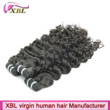 Extensions bon marché malaisiennes de cheveux de cheveux humains de 100% vraies