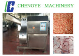 Carne de vaca congelada Dicer 1000kg/Hr del acceso de los pescados del pollo de la carne