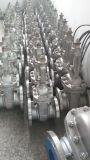 GB de aço inoxidável 304/316 de válvula de porta flangeada