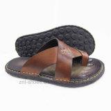 Тапочка \ ботинок \ обувь пляжа PU человека, просто конструкция