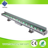 36*1W Waterproof RGB con DMX LED Wall Washer Light