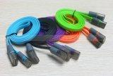 Type plat multi de la couleur 3FT USB 3.1 cordon de remplissage de nouille de caractéristiques de Snyc de câble de C pour Huawei