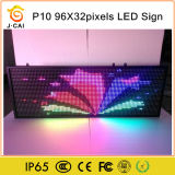 Sinal programável ao ar livre do diodo emissor de luz com o preço o mais barato