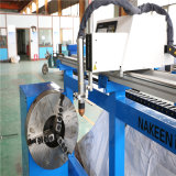 Cortador de tubo de tres ejes del CNC de Dezhou Nakeen