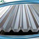 Color de la arena, hoja de aluminio de zinc corrugado metal en los techos