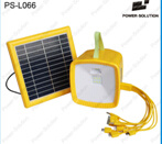 Lanterne Solaire Avec USB-Handy Charger&Radio&MP3
