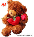 Orsacchiotto Bear Soft Stuffed Animal Fur Pet Puppet Plush Toy per Children