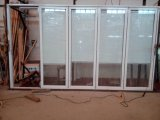 Große Bifold Türen mit niedrigem e-Glas