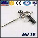 Pistolet résistant en métal de construction pour la mousse de polyuréthane