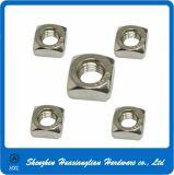 Écrou carré de l'acier inoxydable DIN557