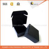 Коробка изготовленный на заказ печатание слоения Matt цветастого Corrugated черная бумажная