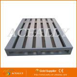 Exportación plástica de acero amontonable de la plataforma de la caja de plataforma del mejor precio 2016