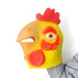 Máscara principal animal del caballo de Brown de la máscara del látex realista