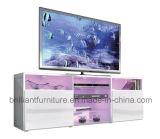 Mobilia moderna di legno del salone LED TV del basamento della TV (BR-TV778)