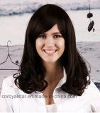 Weibliche lockiges Haar-Kegel-Birnen-Blumen-Kopf-Perücke der neuen Perücke-2016