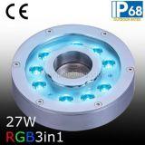 anello dell'indicatore luminoso della fontana di 24VDC 27W RGB LED (JP94194)