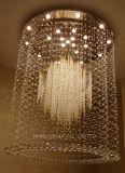 Gran lámpara moderna del techo de la buena decoración cristalina K9