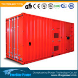 500kw Soundproof Diesel Generator Set