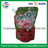 Высокий изолированный мешок алюминиевой фольги для фруктового сока упаковки/выпивать/еды напитка/косметик/химически тензида жидкости/прачечного