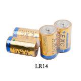 Батарея длинной жизни Lr14 алкалической батареи для электронного вспомогательного оборудования