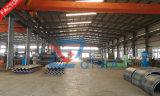 10 años de pipa acanalada montada producida fábrica del metal